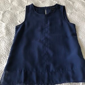 Banana republic blue blouse